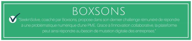 seeknsolve digitale numérique innovation startup boxsons alexis lemonnier