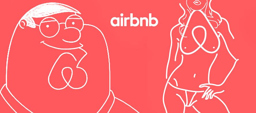 logo airbnb détournement
